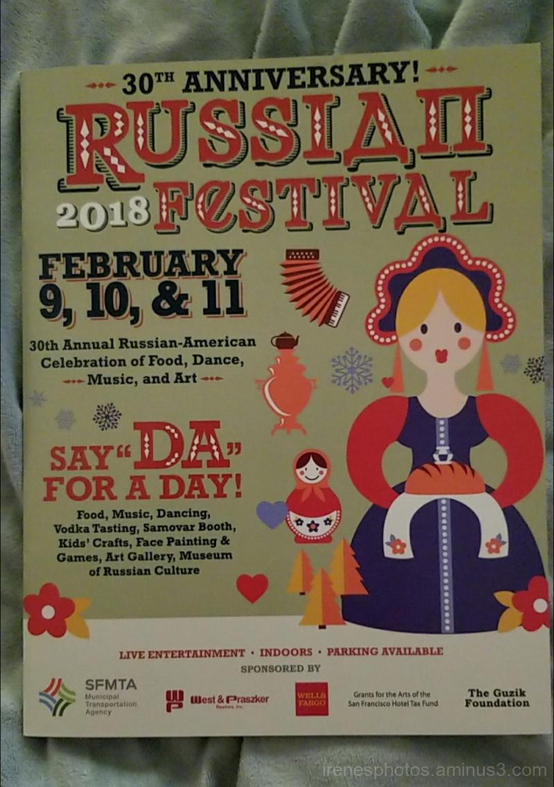 Program for Russian Festival