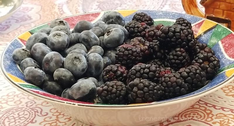 Blueberries & Blackberries