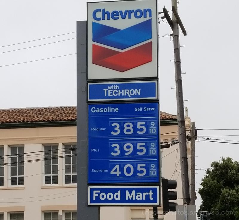 Gas Price on 06.19.2018