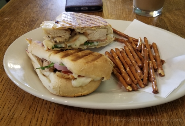Chicken Panini Sandwich on 07.03.2018