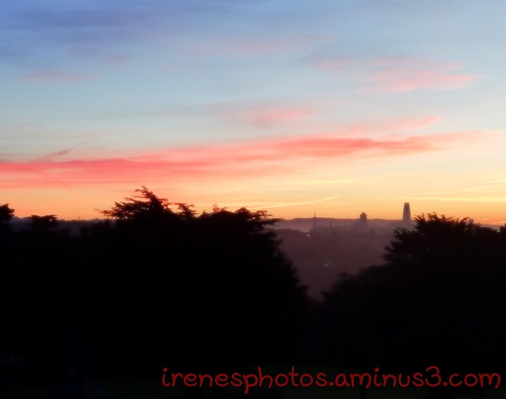 Sunrise on 10.31.2018