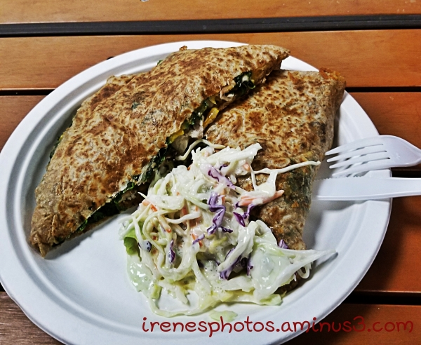 Spinach & Cheese Crepe