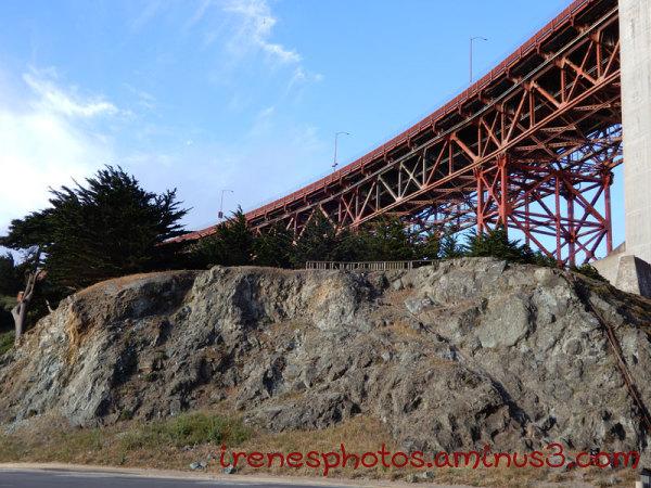 San Francisco Side of Bridge