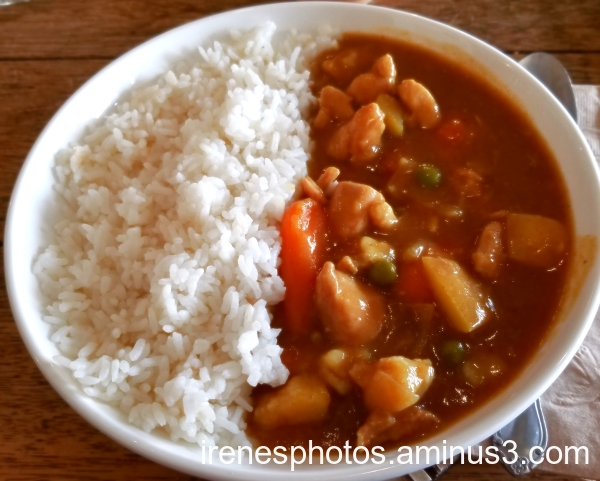 Chicken Curry with Rice on 10.31.2019