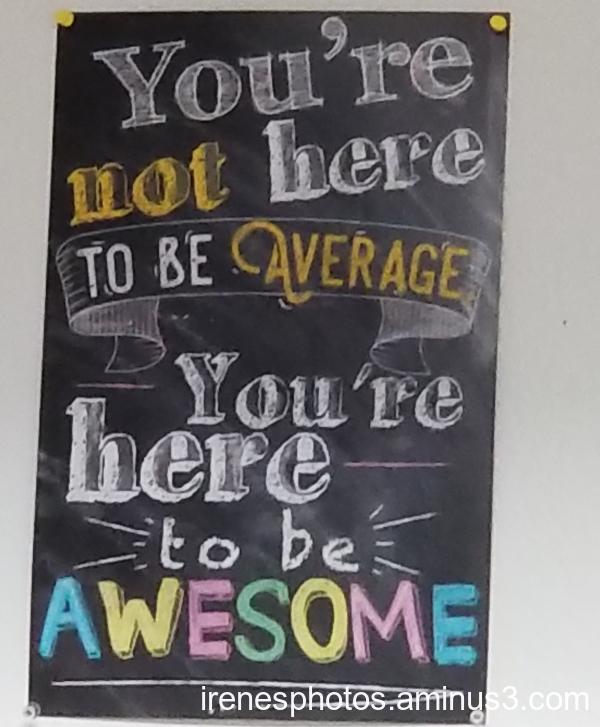 Not Average