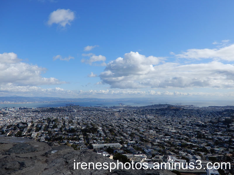 View from Twin Peaks on 11.29.2019