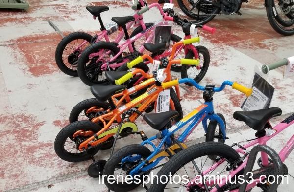 Itty Bitty Bikes