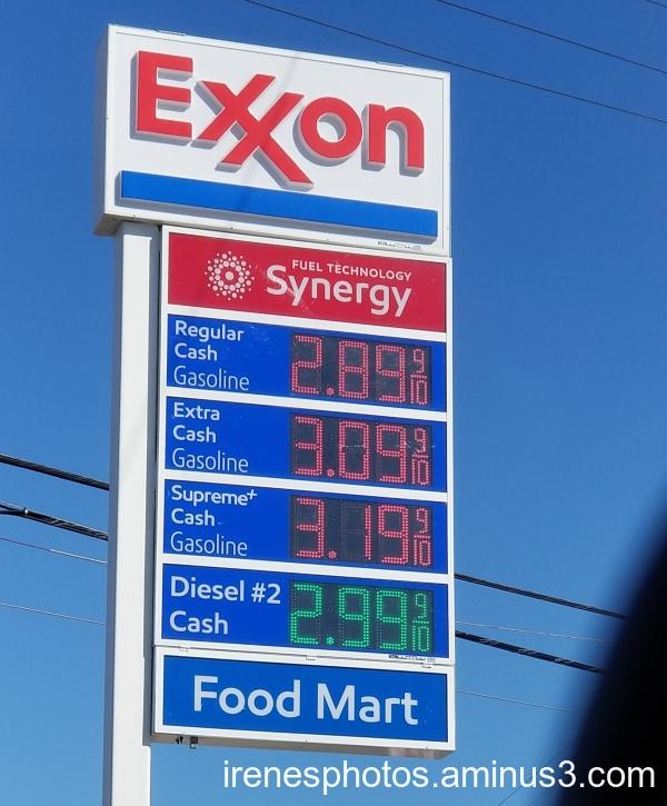 Gas Price on 08.13.2020