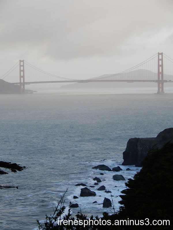 Golden Gate Bridge on 12.26.2020