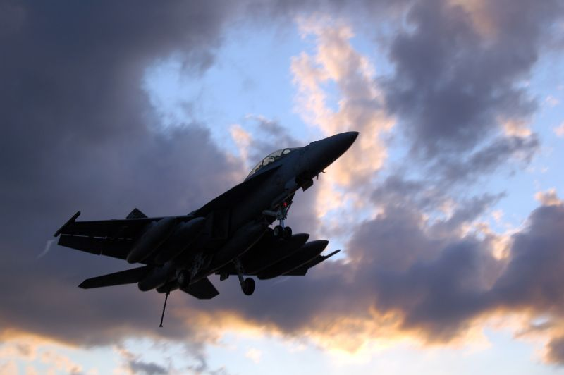 F/A-18 Fly by