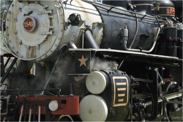 Steamtrain, Cuba