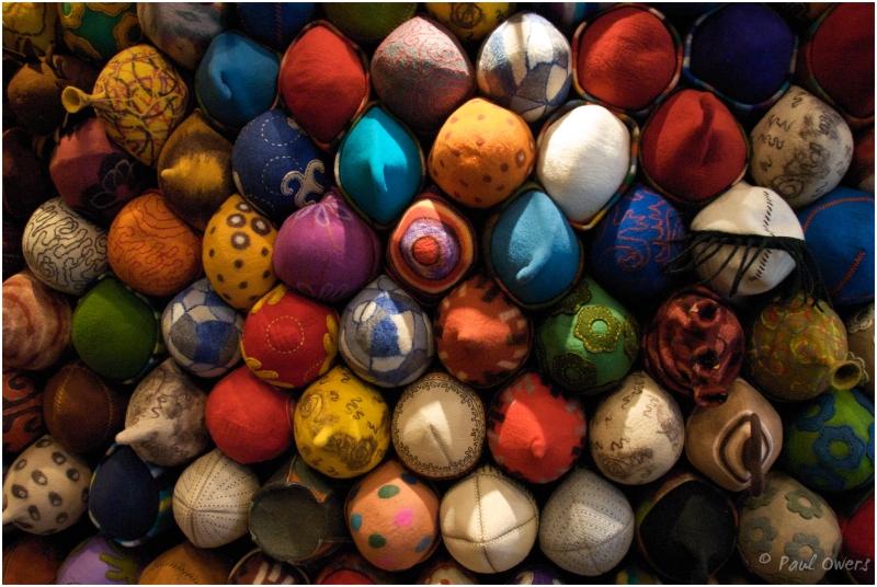Felt hats, Istanbul, Turkey