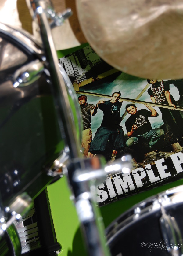 drums and poster