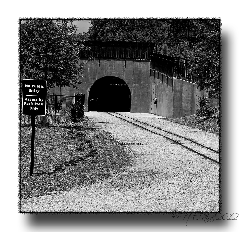 tunnel and railroad