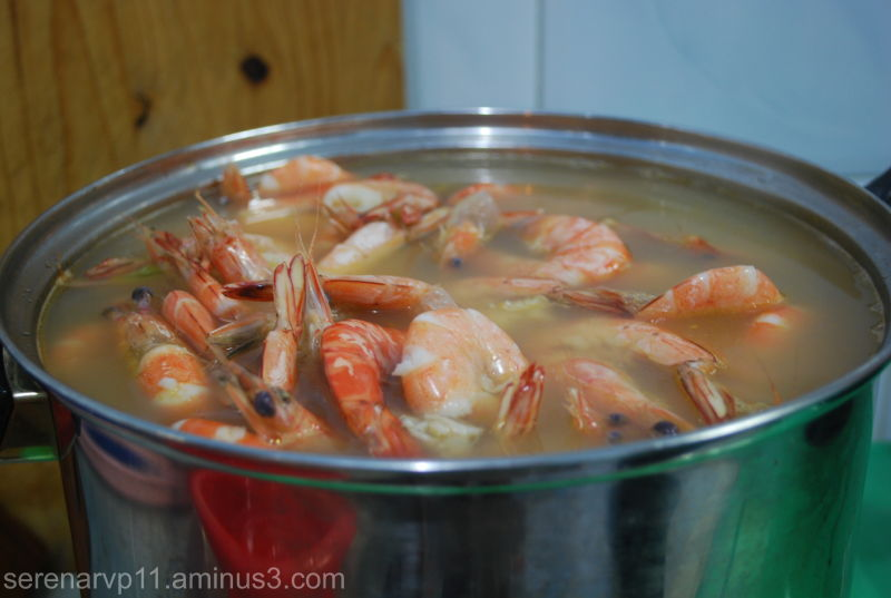 Fresh Broiled Shrimps =)