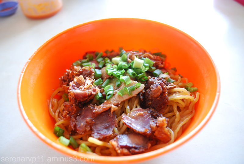 Fried pork noodles