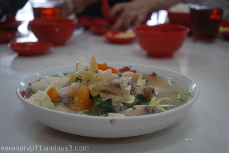 Pickled Vege Fish Soup