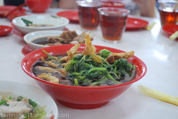 Broiled vegetables