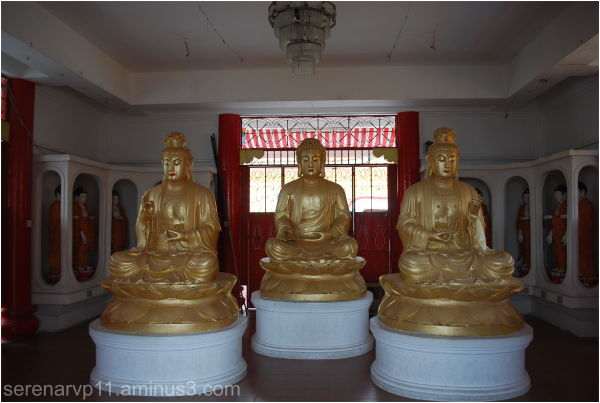 Three Buddha Statues
