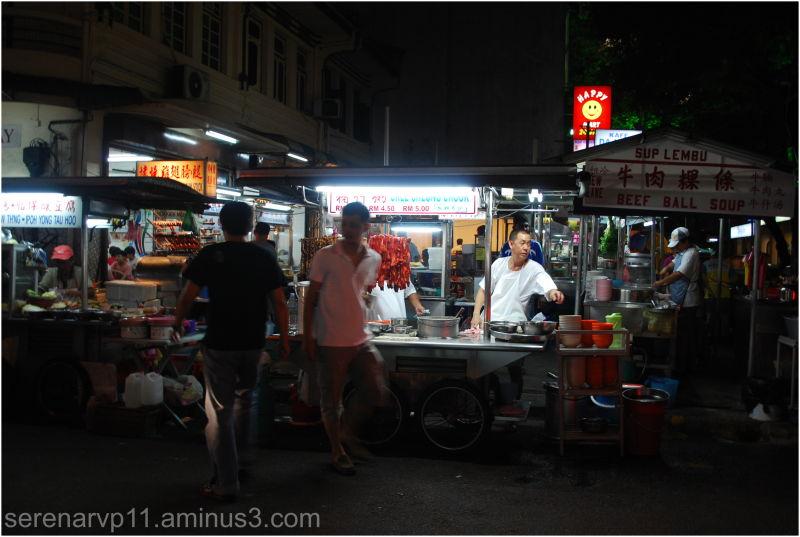 Night Hawker Stall