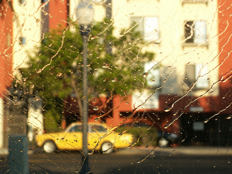 san diego yellow car