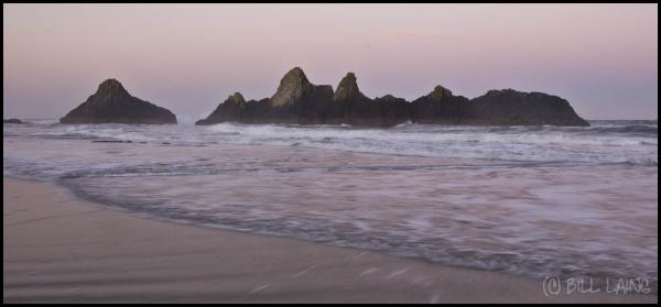 Retreating Tide at Dawn
