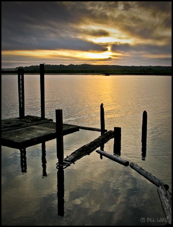 Sunset on Nehalem Bay