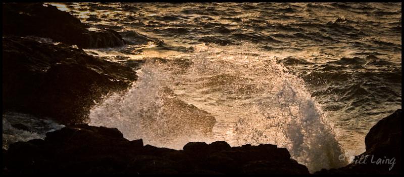 Surf, Yachats, Oregon
