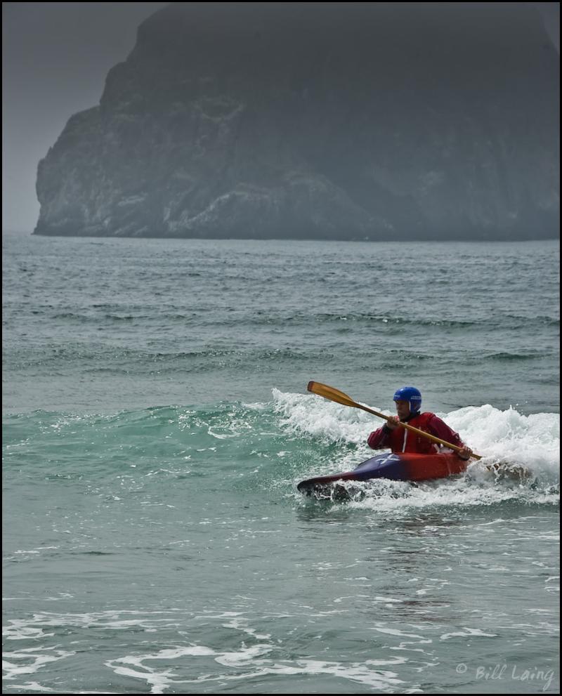 Kayaking at Cape Kiwanda