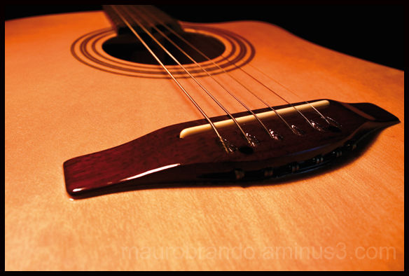 A friend's guitar Barcelona 2008