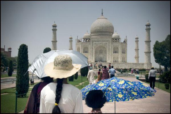 mauro brando taj mahal Agra India  summer 2009