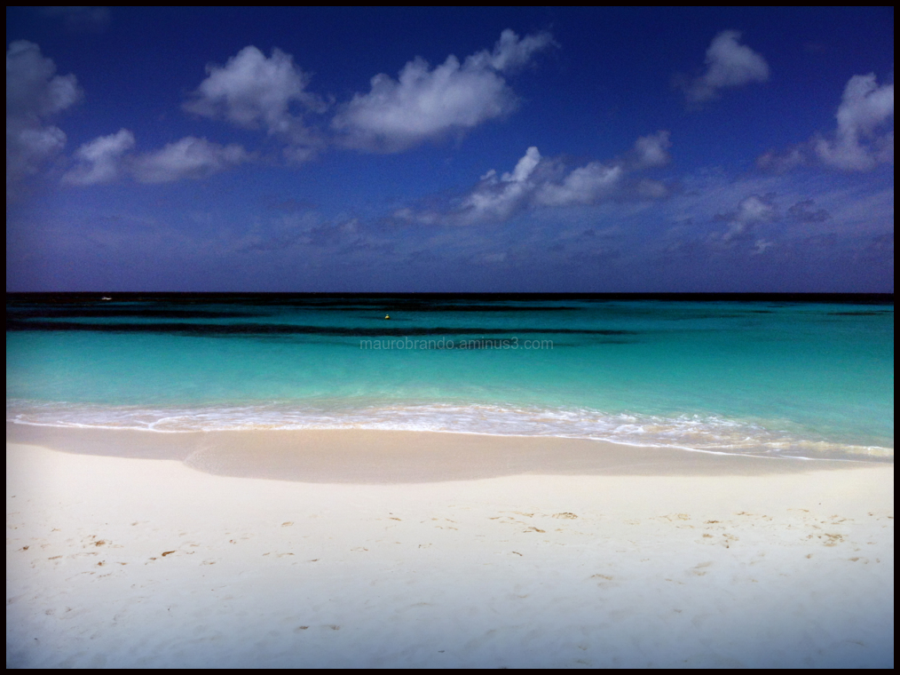 Anguila Island Caribbean