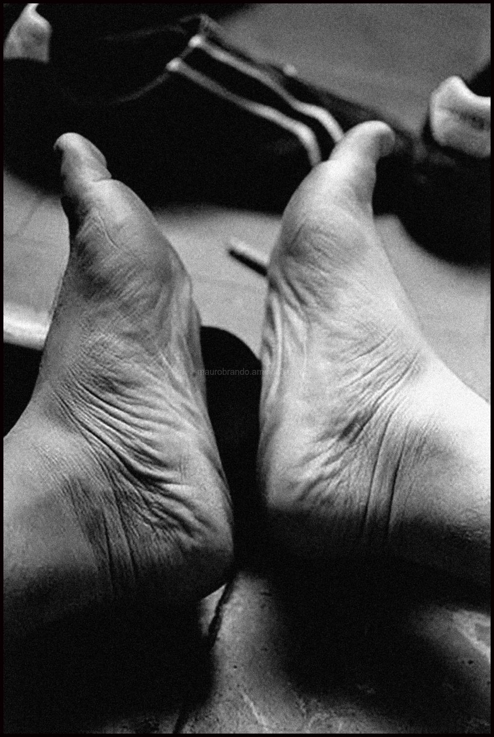 Travelers feet