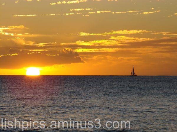 Sailing ... takes me away...