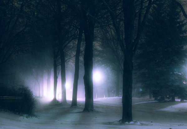 . snow bound