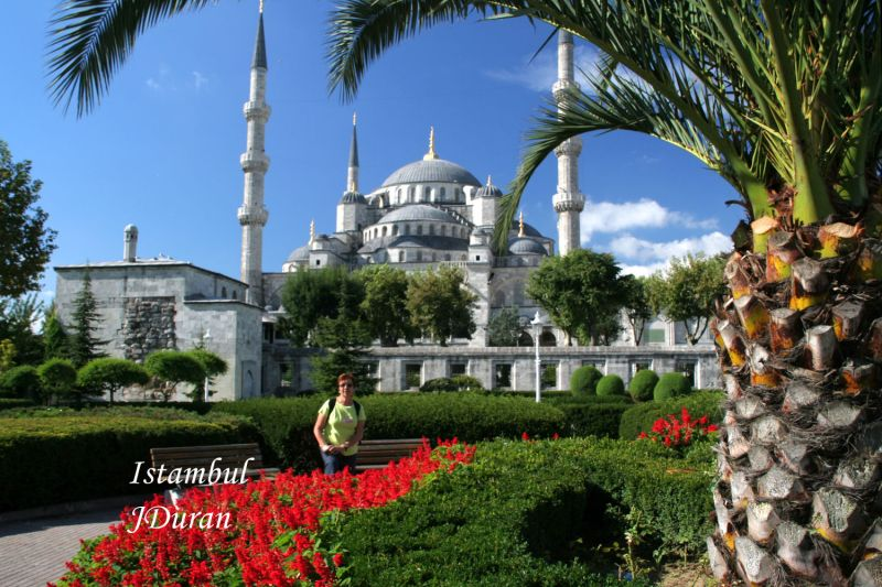 Mosque and gardens