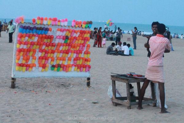 elliots beach chennai