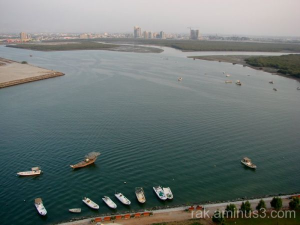 Ras Al Khaimah, creek, mangrove, corniche