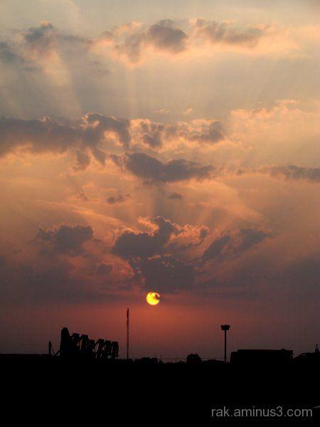 Ras Al Khaimah sunset