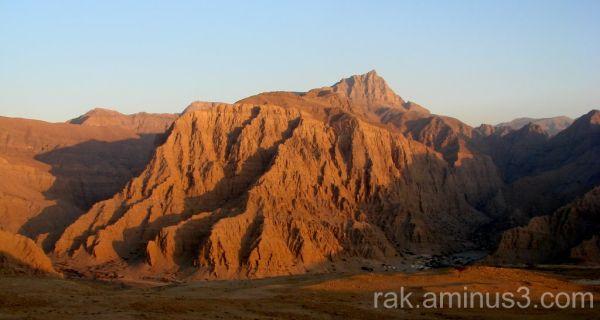 Ras Al Khaimah Hajjar mountains