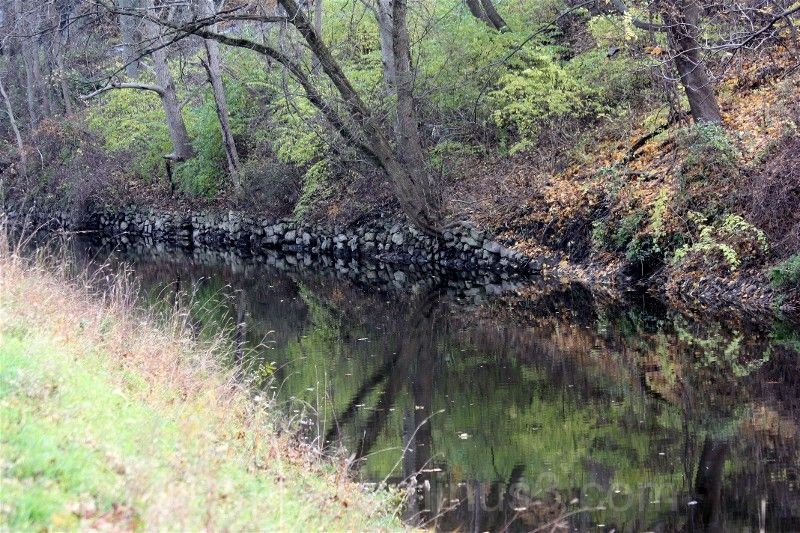 The Delaware Canal.