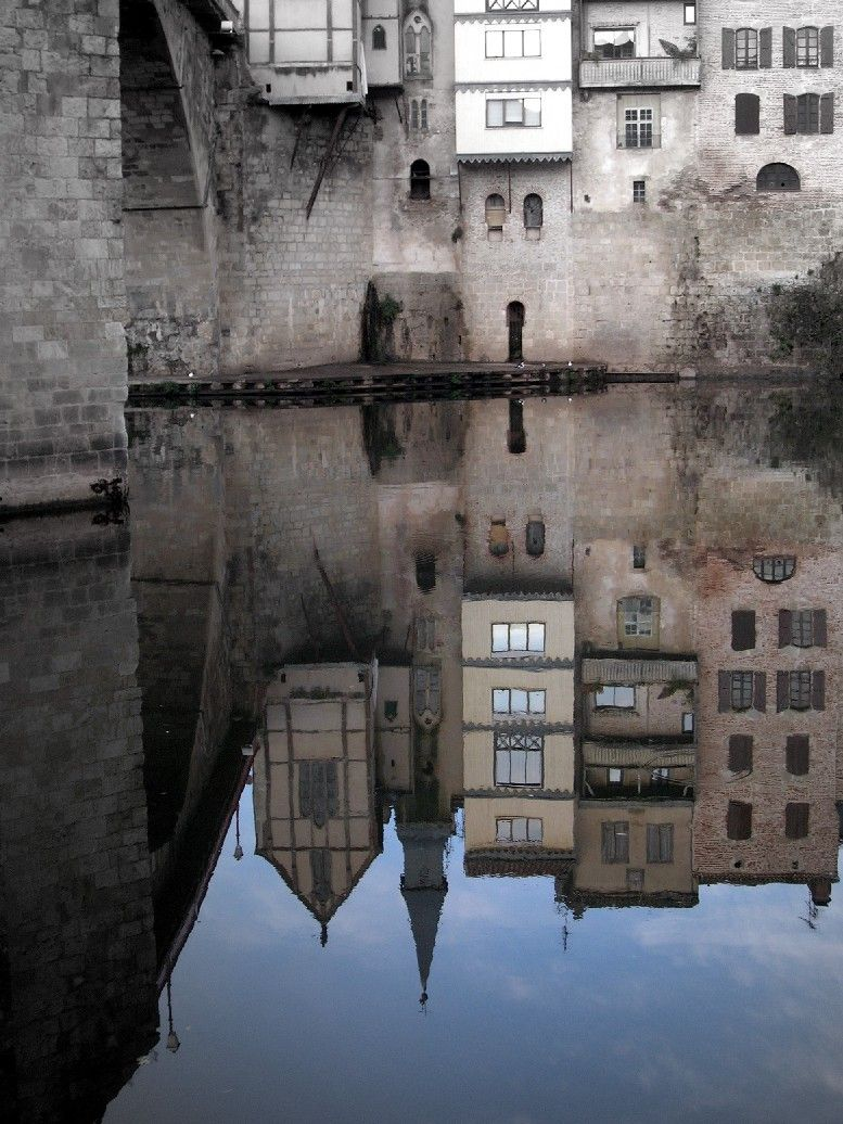 Lot et Garonne, Villeneuve-Sur-Lot, Pont des cieut