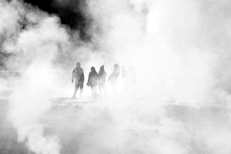 Chili, geysers du Tatio, désert d'Atacama