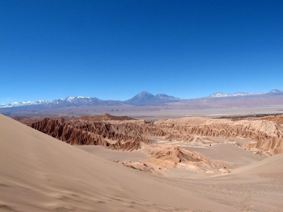 chili, desert d'Atacama, cordilière des Andes, Val