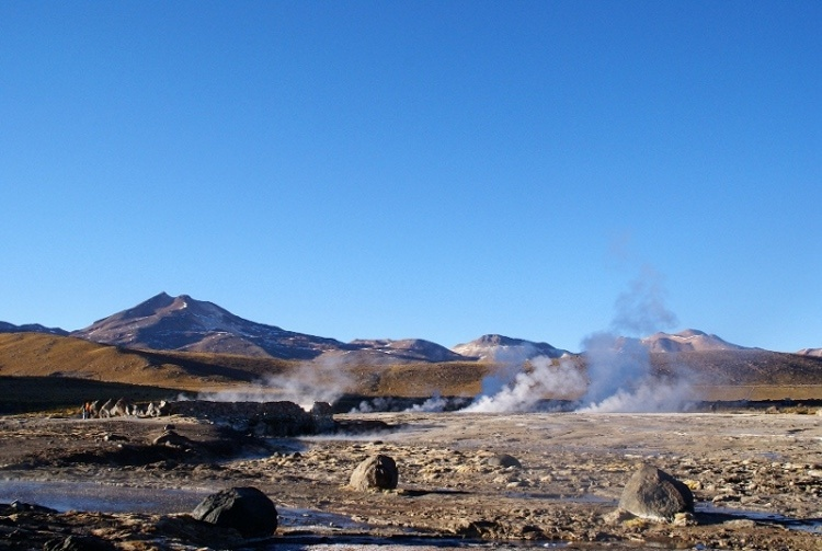 chili, desert d'Atacama, cordilière des Andes, gey