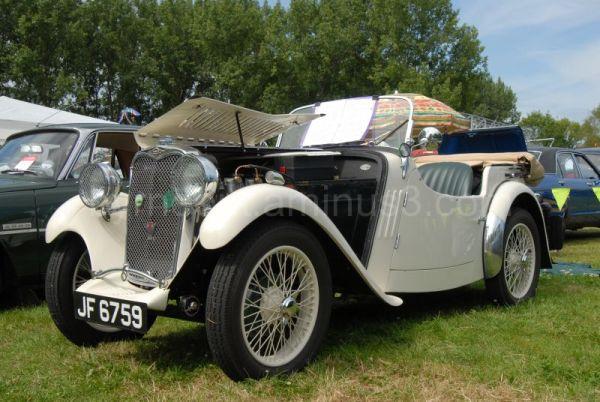Circa 1934 Singer Car