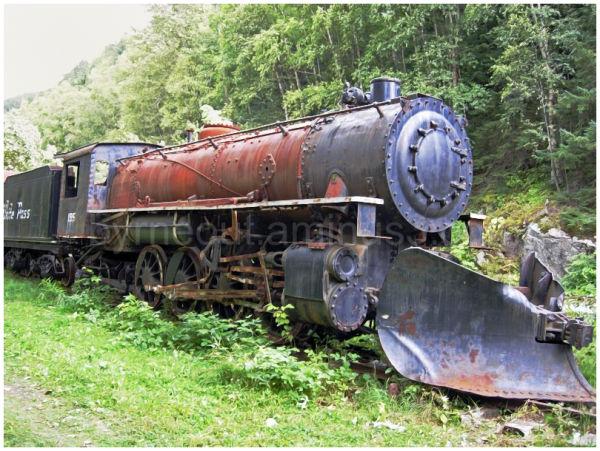 Loco 195 - White Pass Railroad