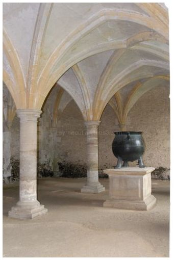Cauldron - Lacock Abbey