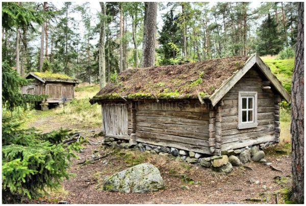 Finnish Log Cabin