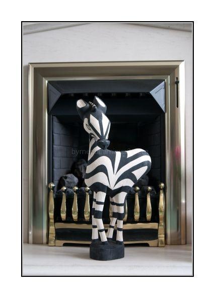 Zebra Carving